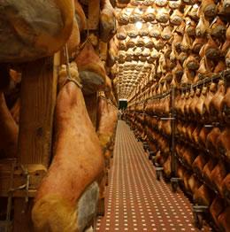 Prosciutto di Parma - in attesa di essere affettato