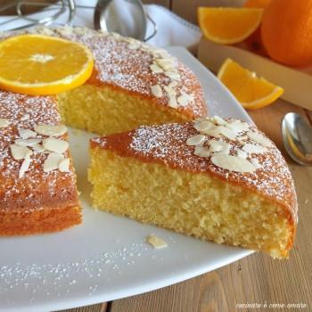Torta Mandorle-Arancia